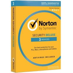 Symantec Norton Security Deluxe 3.0 PL 1 USER 3 DEVICE 12M