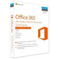 Microsoft Office 365 Home PL P2 1Y 1User/5komputerów